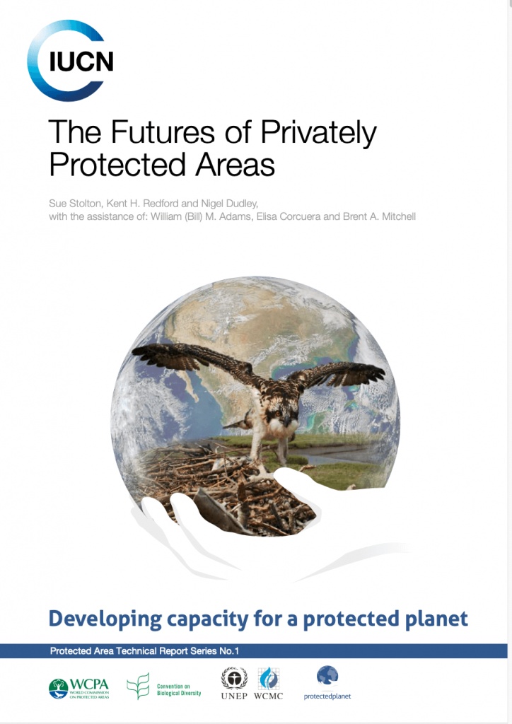 Report Cover: The Futures of Privately Protected Areas
